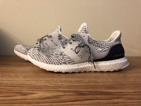 Details about adidas Ultra Boost 3.0 Oreo White Black Size 8.5 ... 97be74e56