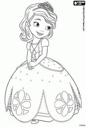 Malvorlagen Sofia Die Erste Ausmalbilder Ausmalbilder Kinder