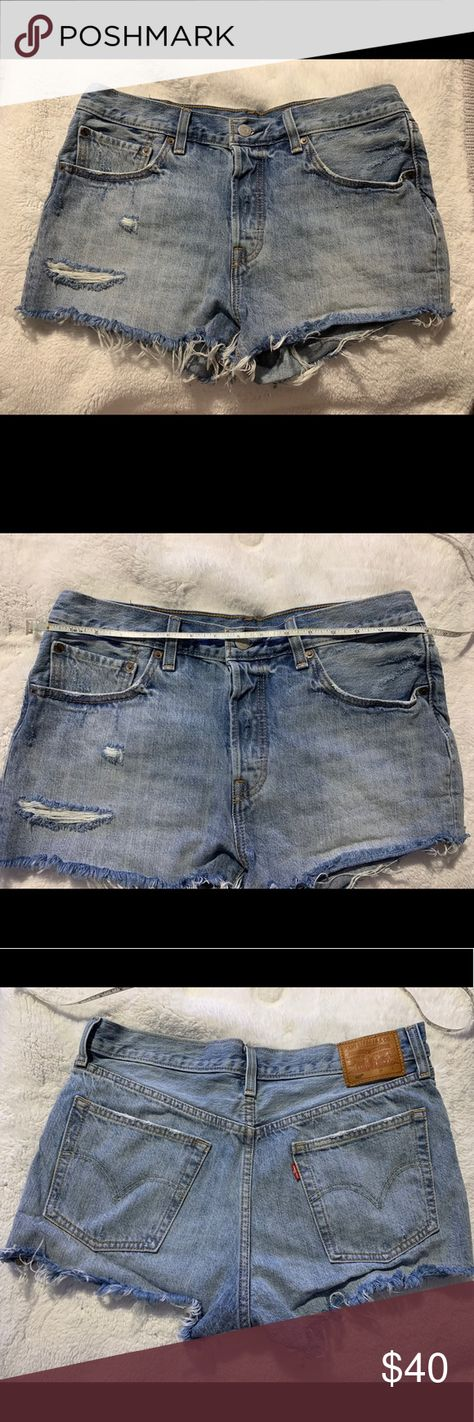 03fe4e2826 Denim shorts Levi's 501 denim shorts waveline Sz 30 New w/o tags Levi's  Shorts