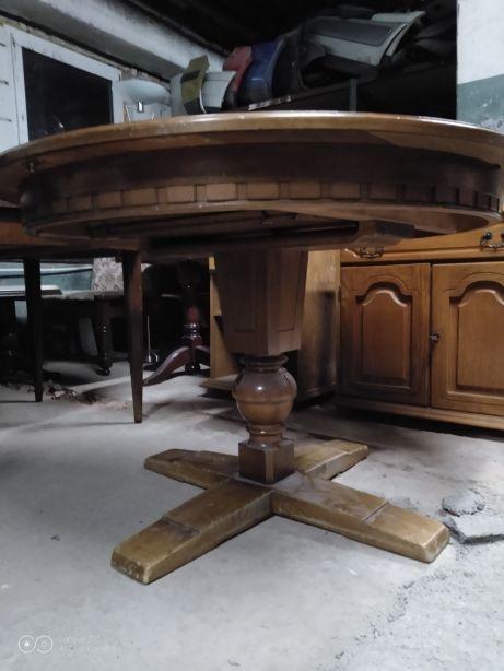 Stol Okragly Drewniany Gronow Olx Pl