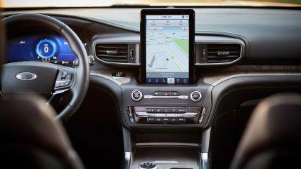New 2020 Ford Explorer Suv Interior 2020 Ford Explorer Ford