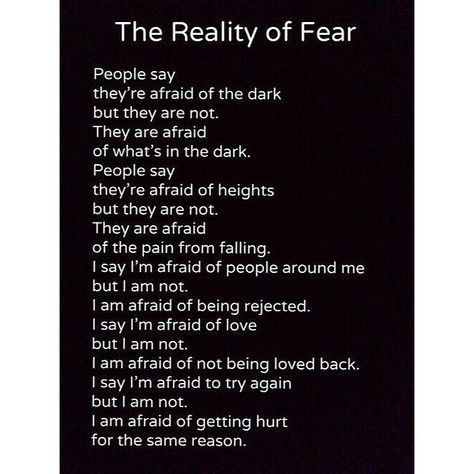 afraid of getting hurt quotes