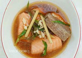Resep Tim Salmon Bawang Putih Oleh Cicie Kitchen Resep Resep Makanan Resep Salmon Resep Seafood