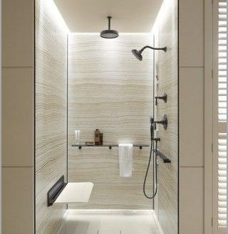Auffallige Wandpaneele Fur Badezimmer Ideen Fur Die Badgestaltung In 2020 Bathroom Remodel Shower Bathroom Shower Walls Bathroom Wall Panels