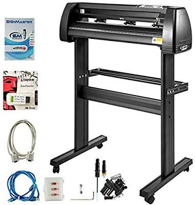 Amazon Com Vevor Vinyl Cutter 28 Inch Plotter Machine 720mm Paper Feed Vinyl Cutter Plotter Signmaster Software Sign In 2020 Printing Software Vinyl Cutter Sign Maker
