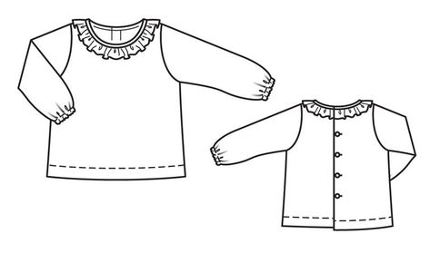 d16adde4514 Блузка прямого кроя - выкройка № 146 из журнала 9 2013 Burda – выкройки  блузок на Burdastyle.ru