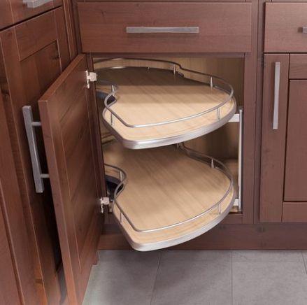 Kitchen Organization Corner Cabinet Storage Solutions 51 Ideas For