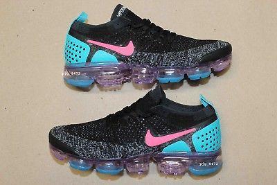 Women's Nike Women's Air Max+ Silver / Turquoise / Pink Running Sneaker (7)   eBay