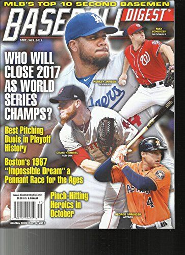 Baseball Digest Magazine Septemberoctober 2017 Containers 3