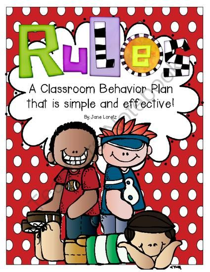 Rules (A Classroom Behavior Plan that is simple and effective) back to school theme from Seejaneteachmultiage on TeachersNotebook.com (30 pages)  - This Behavior plan is simple and effective.  Everything you need.