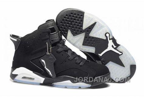 59afb45436b7ec Air Jordan 6 Retro Black White New Jordans Shoes 2013 free get Chalcedony  Pendant   Volt Lace