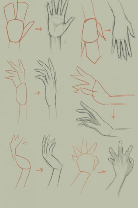 How To Draw Anime Hands Step By Step 4 Jpg 546 819 Drawing Anime Hands Anime Drawings Tutorials Hand Sketch
