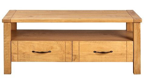 George Home Luthor Coffee Table Pine Read Reviews And Buy