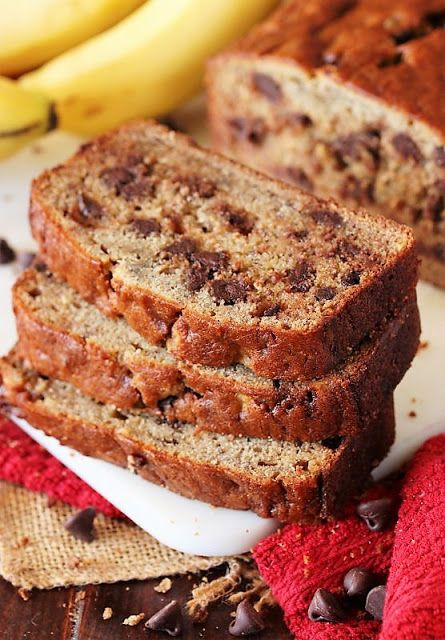 Chocolate Chip Banana Bread In 2020 Chocolate Chip Banana Bread Buttermilk Banana Bread Banana Chocolate Chip