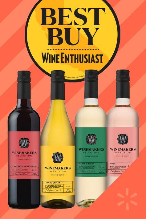 Shop our assortment of $5 Winemakers Selection, just awarded 'Best Buy' from Wine Enthusiast Magazine! Perfect for the cheers-ing this holiday season. Please drink responsibly.