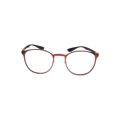 3f392dd5e6 Ray-Ban RX6355 Brushed Bordo 2922 - Unisex Prescription Eyeglasses for men  and women