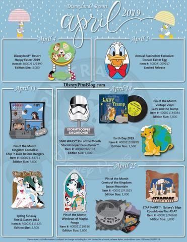 2019 April Disney Pin Release Schedules Disney Pins Disney Parks Disney Imagineering