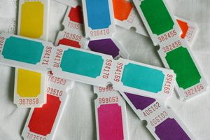 Carnival Tickets (12 pack)