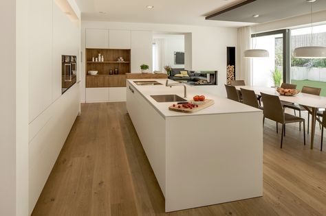 Berschneider + Berschneider, Architekten BDA + Innenarchitekten - küchenzeile ohne hängeschränke