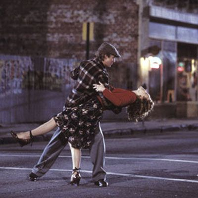 I want to dance in the street like this. ... love this movie, the book was way better though