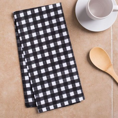 Black White Checkered Kitchen Towels 2 Pack Kitchen Towels Linen Tablecloth Dish Towels
