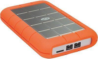 Lacie 500gb Rugged Triple Interface Usb 3 0 Portable Hard Drive Firewire 800 An Disco Rigido Usb Tablets