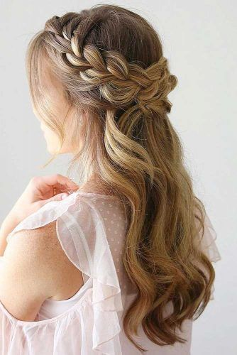 70 Crown Braid Styling Ideas With Images Hairdo Wedding