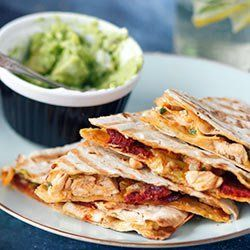 Quesadillas Z Kurczakiem I Serem Kwestia Smaku Culinary Recipes Workout Food Cooking