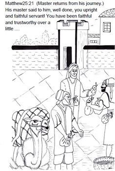 Parable Of The Talents Coloring Page New 15 Best Parable Of The