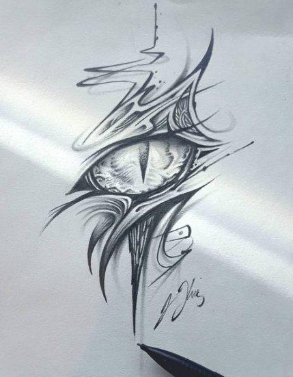 Ideas Del Tatuaje Del Ojo Bocetos Articulo 36 Mejores Ideas In 2020 Eye Tattoo Dragon Eye Small Tattoos