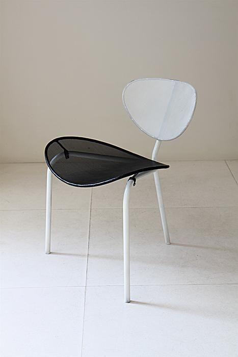 Mathieu Mategot Nagasaki chair, laquered metal, 1954 | 20th ...