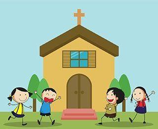 30 Gambar Kartun Anak Sekolah Minggu Berdoa Di 2020 Kartun
