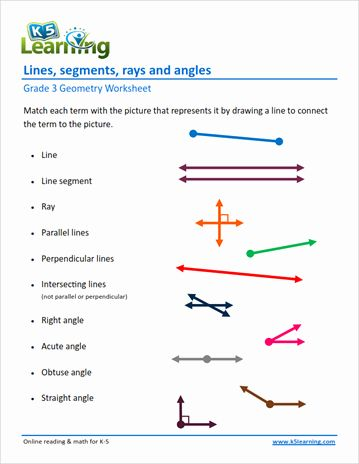 50 Lines And Angles Worksheet In 2020 With Images Geometry