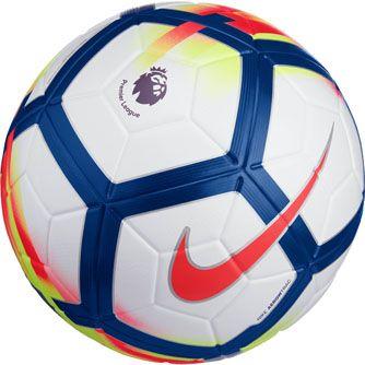 White Crimson Nike Ordem V Premier League Match Soccer Ball Soccerpro Com Soccer Ball Soccer Soccer Training