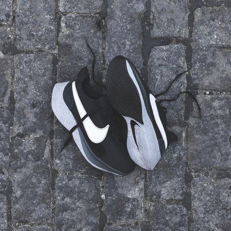 5c4468c1dcc1 Nike Moon Racer - Black   White   Wolf Grey   Dark Grey
