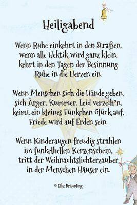 Adventsgedicht Fur Klein Und Gross Winterzeit Geschenkideenweihnachteneltern Adventsgedicht Fur Klein Und Gross Winter Christmas Advent Christmas Eve Advent