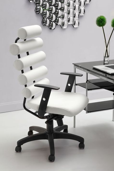 Home Office Options Choosing The Right Desk Chair White Office Chair Home Office Chairs Home Office Furniture