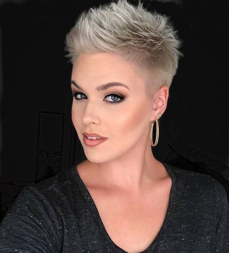Just have to say this would look awesome with your natural hair color. I obviously haven't seen much, but your dark hair, light eyes and light skin are a beautiful combo with your short 'do.