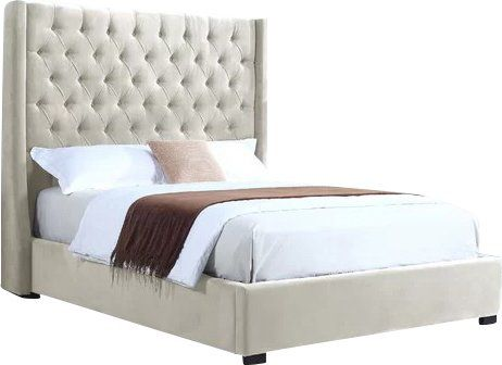 You Ll Love The High Profile Upholstered Platform Bed At Allmodern With Great Deals On Modern Products And F Bed Velvet Upholstered Bed Upholstered Bed Frame