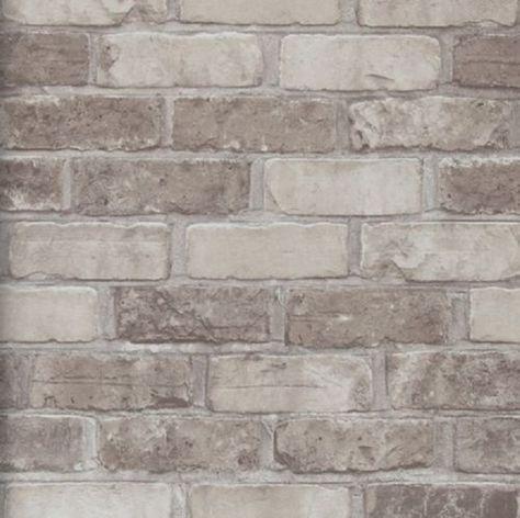 Vlies Tapete Bruchstein Stein Muster Grau Anthrazit Schwarz Braun Terra Mauer Ziegel Hintergrund Kunstliche Ziegelwande Steintapete