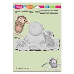 Crocus Droplet Stampendous House Mouse Stamp
