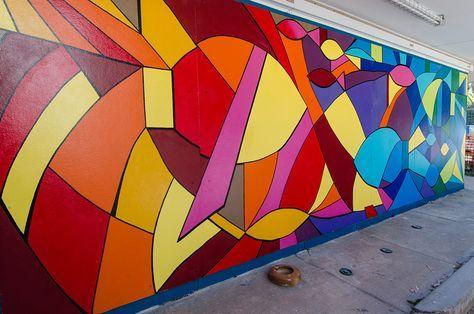 Abstract Murals In Schools Google Search Mural Art School Murals Mural