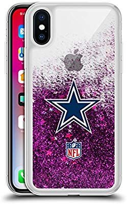 Accessori X Phon.Amazon Com Official Nfl Plain Dallas Cowboys Logo 2 Purple