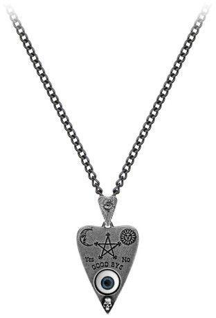 ALCHEMY VOODOO DOLL PENDANT Gothic Folk Magic Pagan Witch Pewter FREE GIFT BOX