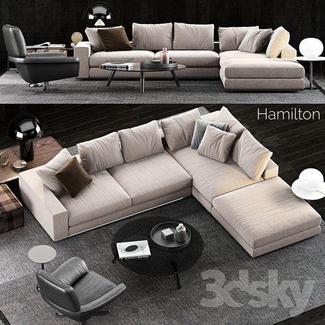 Terrific Minotti Hamilton Sofa Modern Sofa In 2019 Hamilton Sofa Machost Co Dining Chair Design Ideas Machostcouk