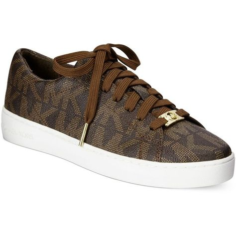 e83a42e15477 Michael Michael Kors Keaton Sneakers ( 110) ❤ liked on Polyvore featuring  shoes