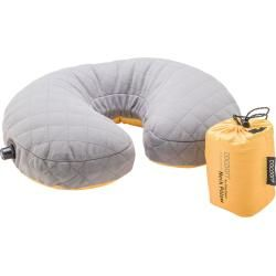 Cocoon U Shaped Down Neck Pillow Orange Reisekissen Cocoon The