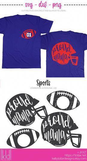 Proud Football Mama Svg Files Includes 2 Plain And 2 Distressed Helmet And Football Monogram Combos Kelly Lo Football Mom Shirts Spirit Shirts Football Mom