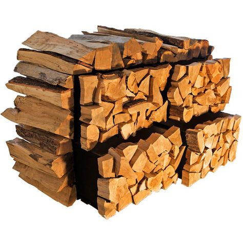 Collection of chopped woods, to create crazy pattern