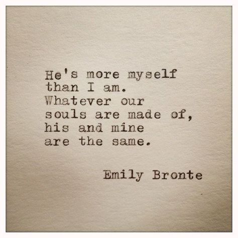 Emily+Bronte+Love+Quote+Typed+On+Typewriter+by+farmnflea+on+Etsy,+$8.50